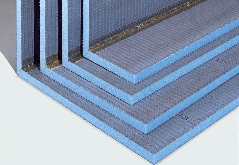 Панели с гидроизоляционной поверхностью
