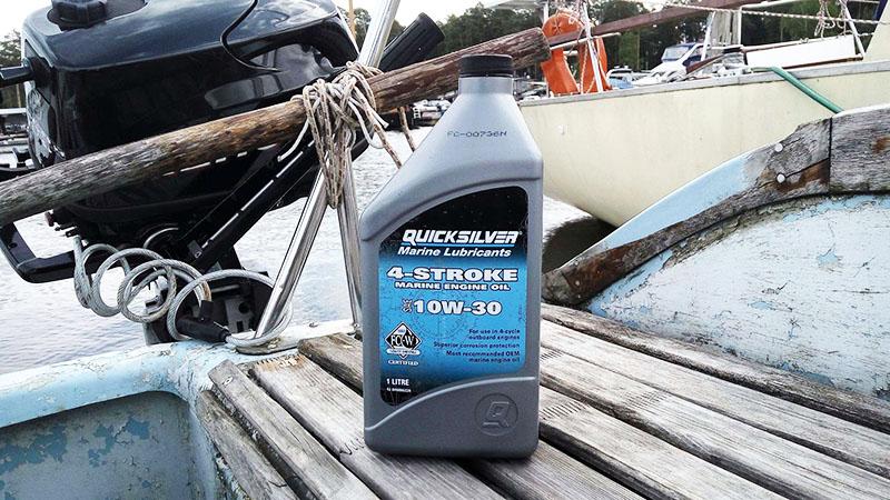Рекомендуется во время плавания иметь при себе запас смеси в канистре, чтобы при необходимости дозаправить мотор