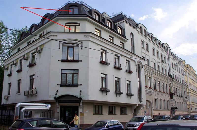 Апартаменты Станислава Садальского расположены на Малой Ордынке, 11-8