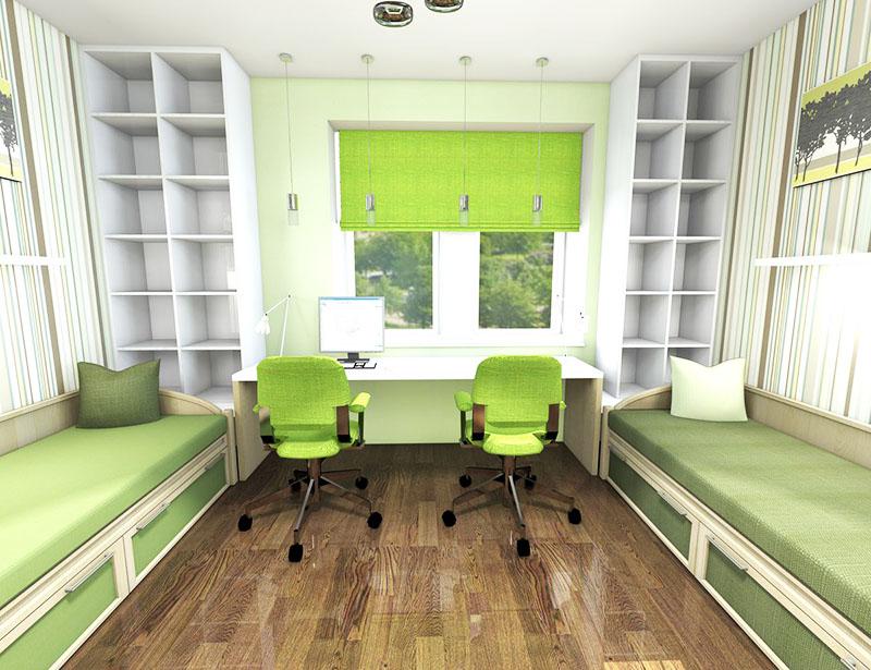 Рабочее место обязательно должно быть оснащено не только широким столом и лампами, но и стульями с удобной спинкой