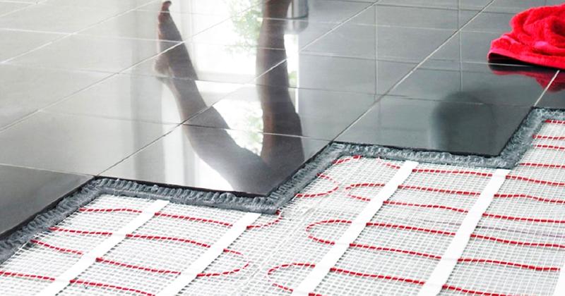 Тёплый пол можно укладывать под любое покрытие