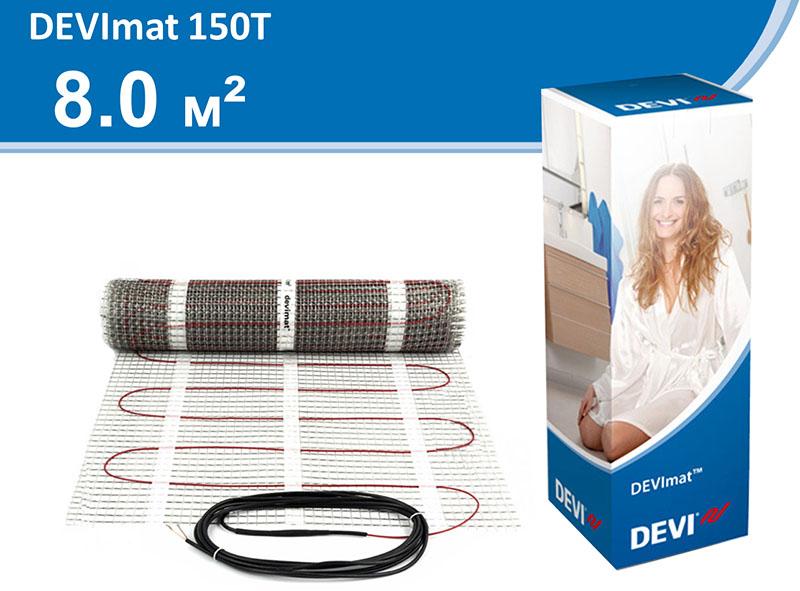 Девимат DTIF - двужильный кабель на подложке