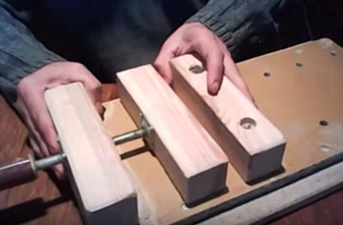 Деревянные тиски для верстака