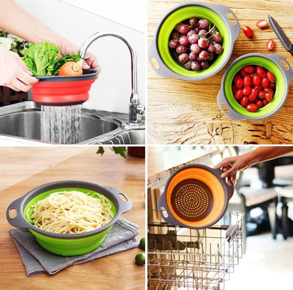 Применять можно и для промывки макаронных изделий, и круп, а также грибов и ягод