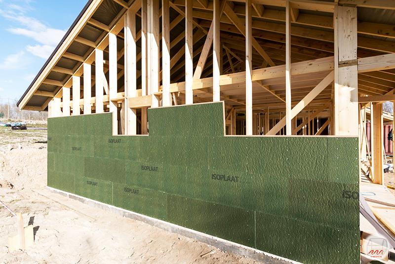 «Изоплат» может быть использован в качестве основного материала для стен