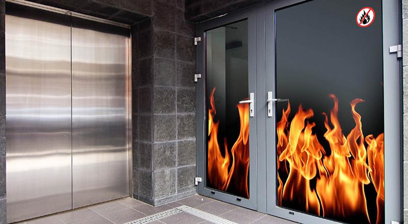 При возгорании фасада «Изоплат» не допустит распространения огня внутрь помещения