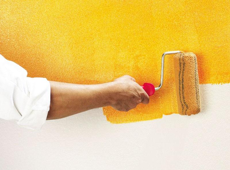 Водоэмульсионная краска для стен: виды, нюансы покраски