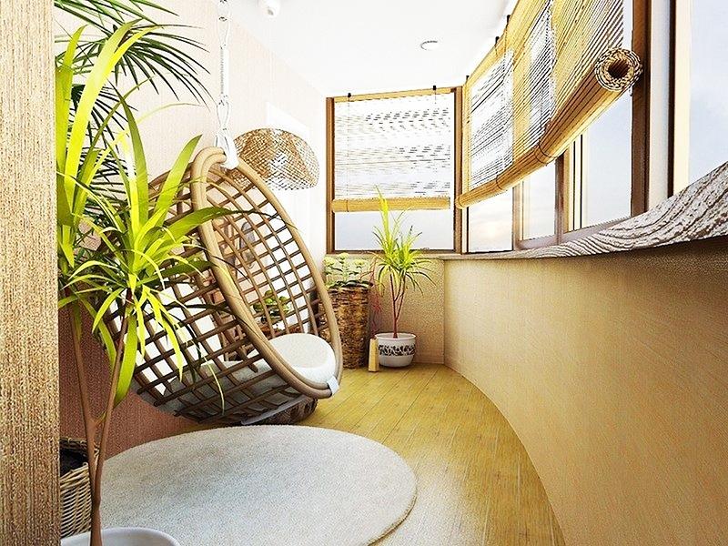 Плетёное подвесное кресло украсит любую комнату или балкон и станет дополнительным местом для отдыха