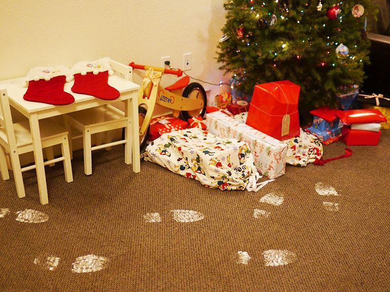 Как после таких вещественных доказательств можно не верить в Деда Мороза или Санта-Клауса