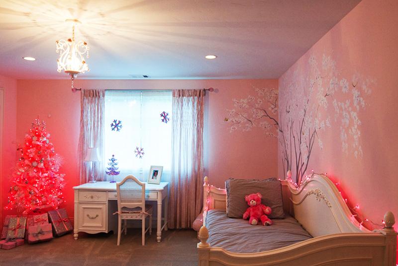 Практически все девчонки любят романтичный розовый цвет