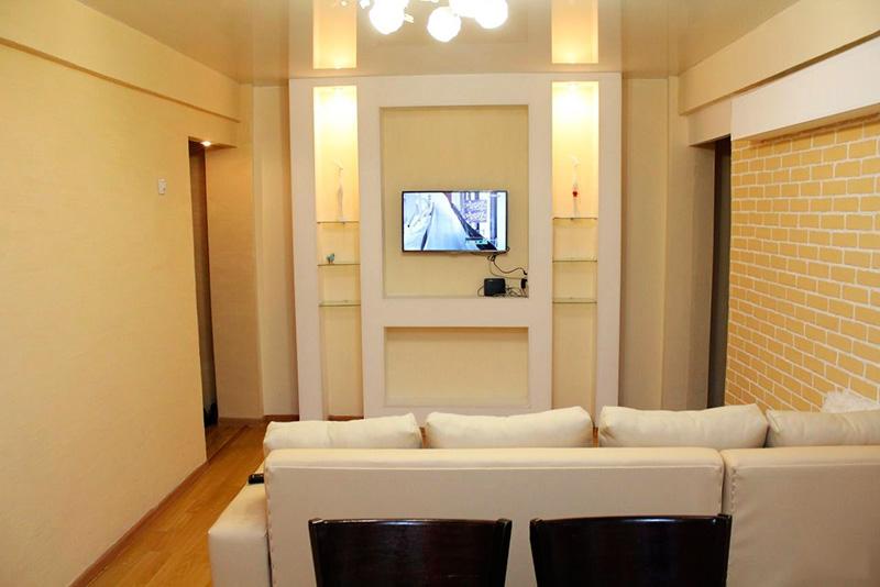 Лучшее решение для установки телевизора – ниша в стене