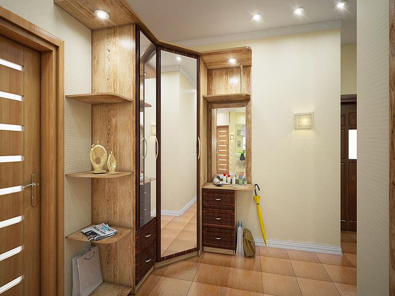 Простое решение – приобрести готовый комплект мебели для прихожей