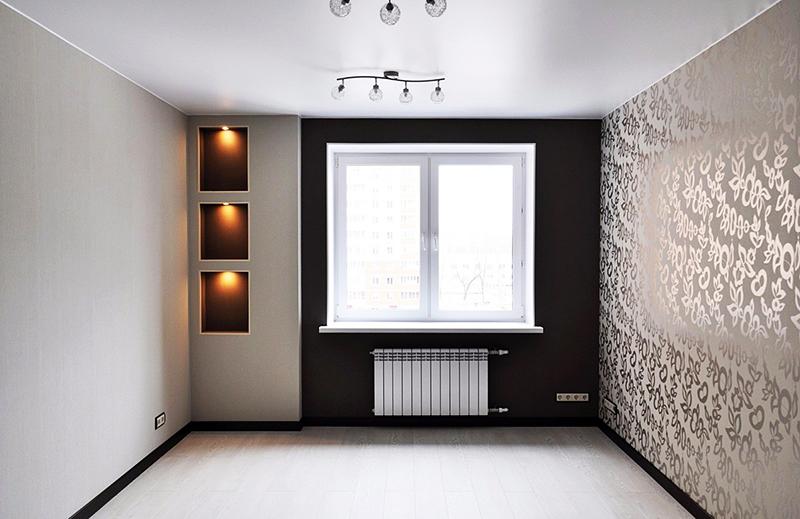 Идеальное решение – матовый белый потолок без лишних элементов декора