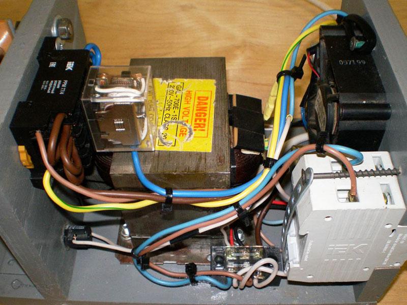 Трансформатор от СВЧ — главный узел самодельного аппарата контактной сварки