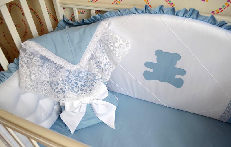 После выписки конверт можно развернуть и использовать как одеяло