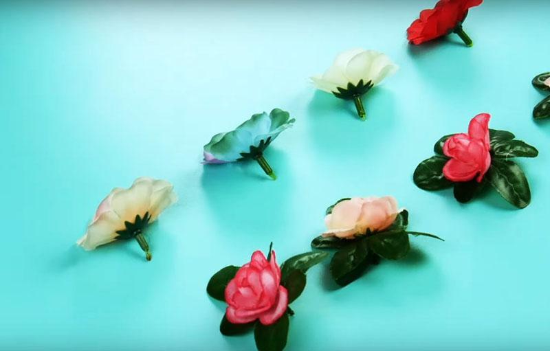 Новая жизнь искусственных цветов