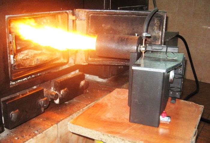 Комбинированная печь