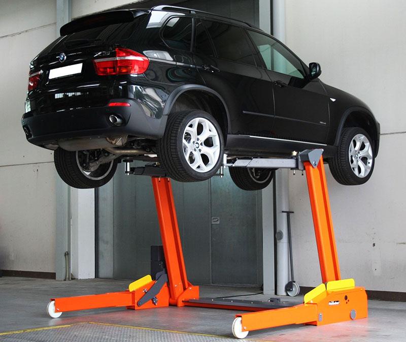 Подъёмник для авто своими руками