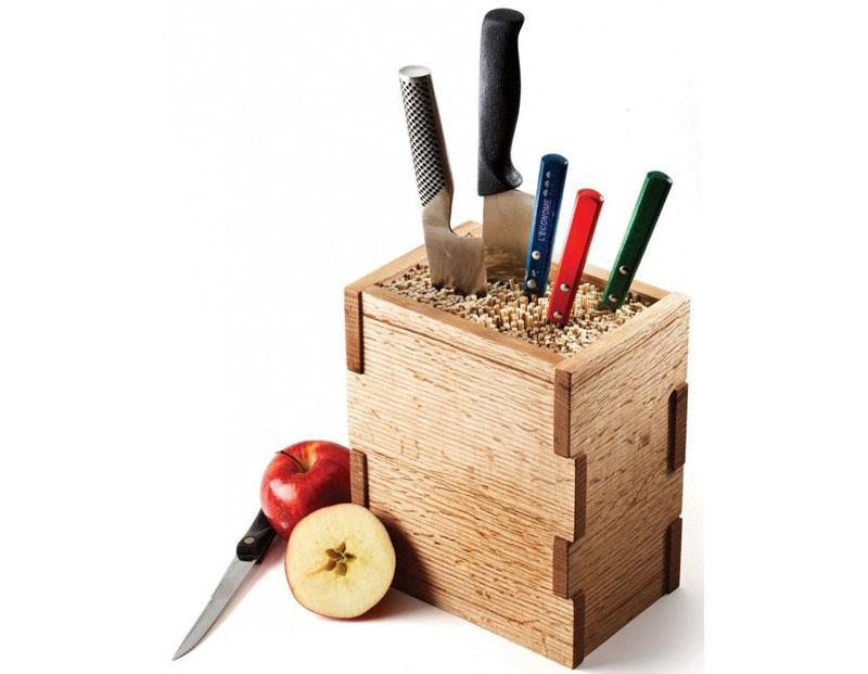 Вариант деревянного корпуса для подставки