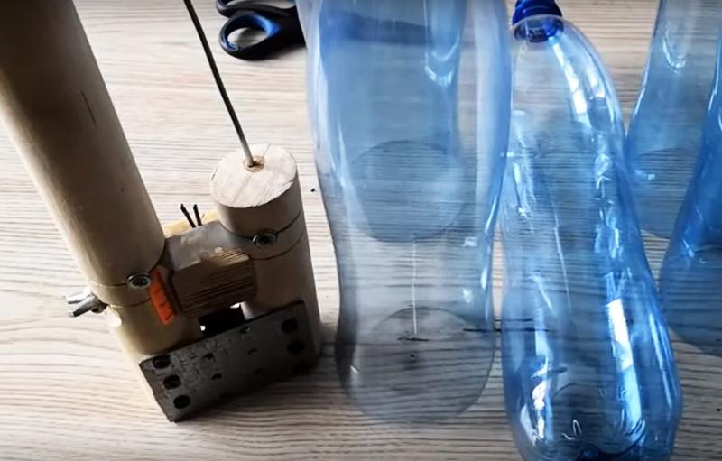 Ремонт мебели пластиковой бутылкой