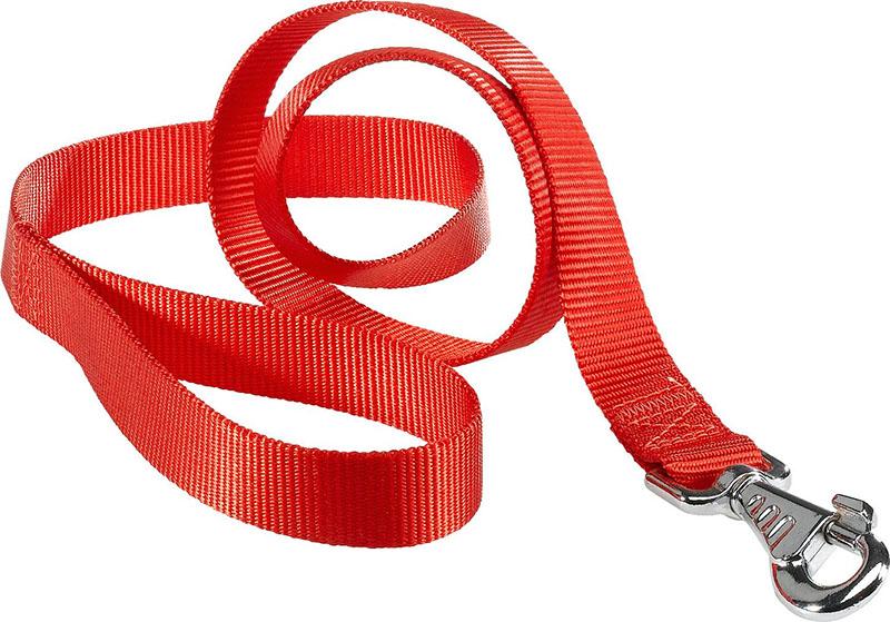 Прочный 100-процентный нейлон используется при производстве поводков для собак, а также для некоторых видов спецодежды