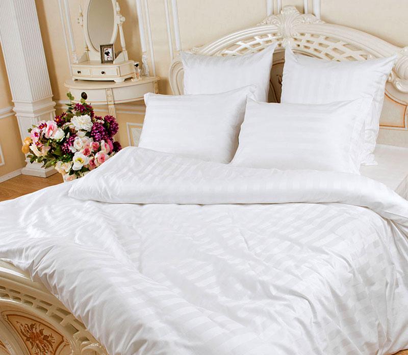Для постельного белья следует выбирать бытовой полисатин с содержанием хлопка