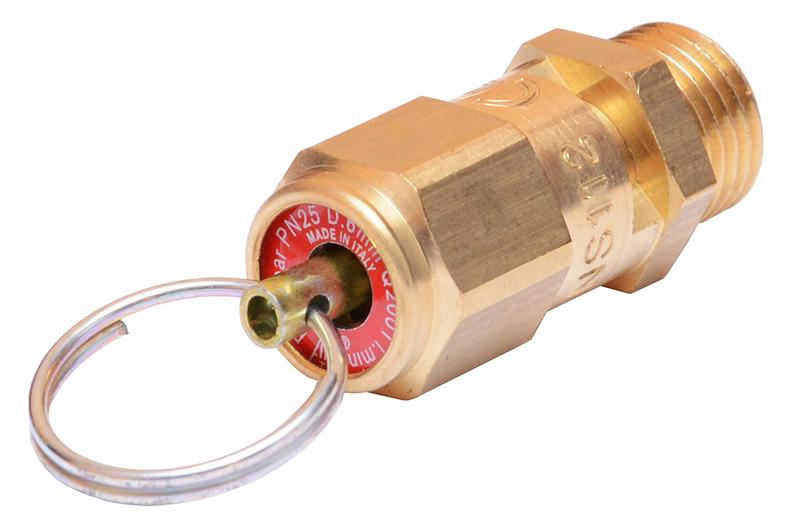 Вот так выглядит аварийный (предохранительный) клапан, который необходимо устанавливать