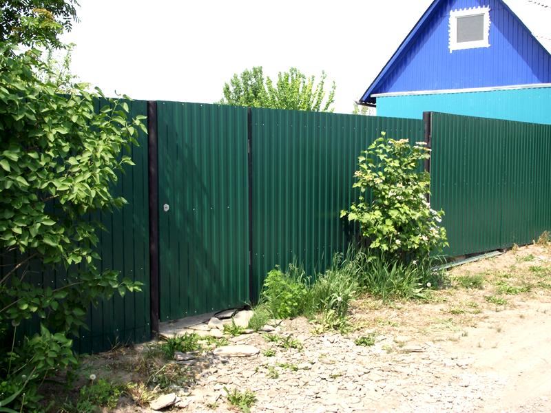 Непрозрачный и абсолютно безопасный забор