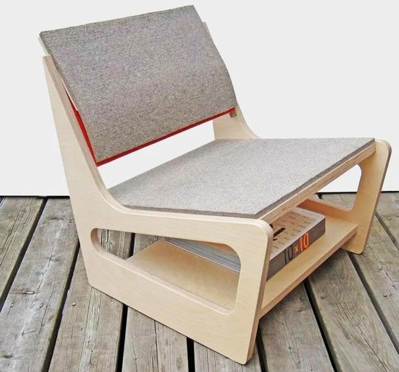 Сиденье можно оббить мягкой сканью или войлоком