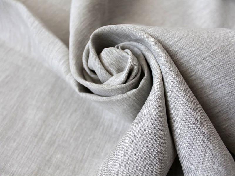 Лён в составе делает ткань безопасной и экологичной