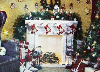 Декор гостиной от Леруа Мерлен на Новый год