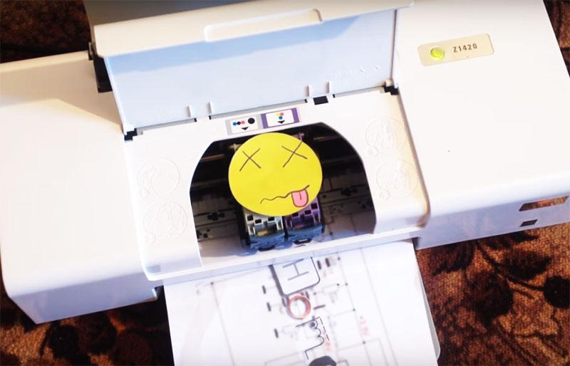 Дремель из принтера