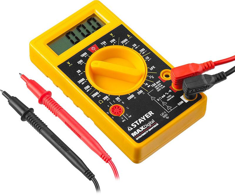 Мультиметр незаменим при электромонтажных работах