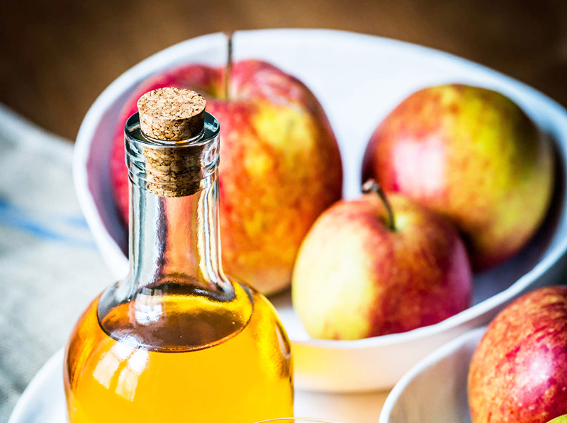 Яблочный уксус прекрасно подойдёт в качестве приманки