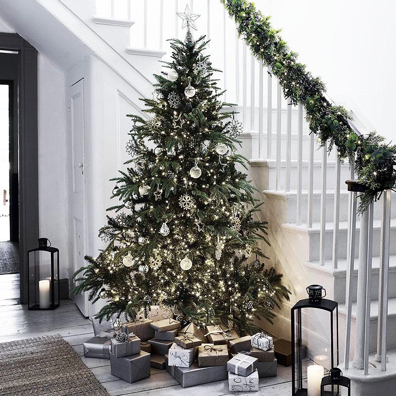 Как красиво украсить дома ёлку на Новый 2020 год: идеи и фото