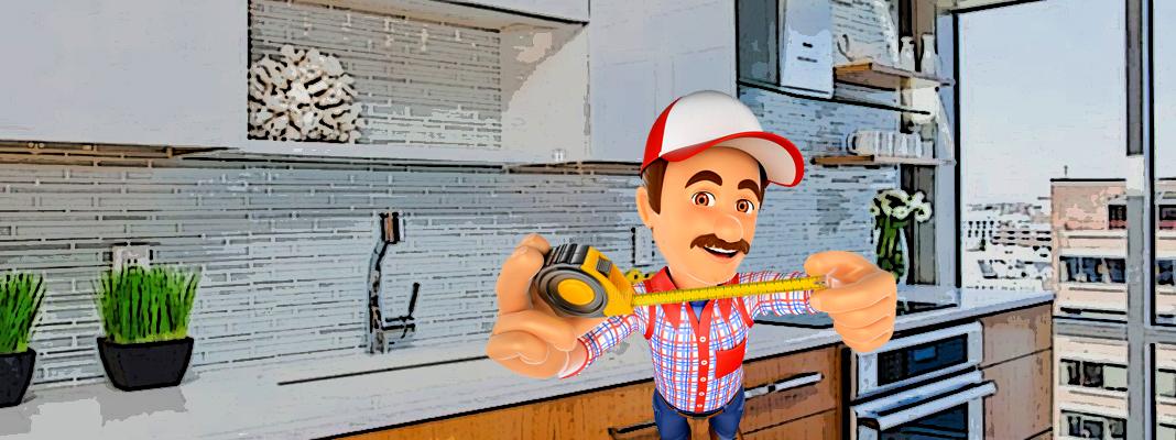 Как выбрать правильный размер кухонного фартука