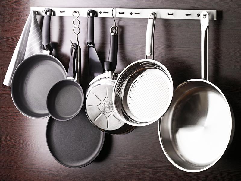На кухне должно быть несколько разновидностей сковород