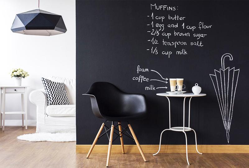 Такая краска подойдёт как для стен, так и для мебели
