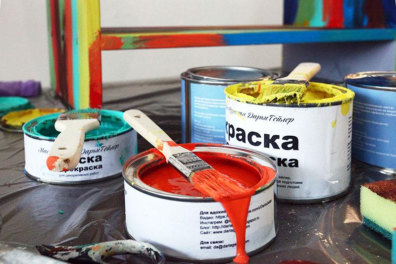 Краски «Дарья Гейлер» очень популярны в России