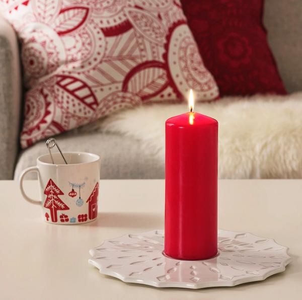 Эти свечи станут истинным украшением стола