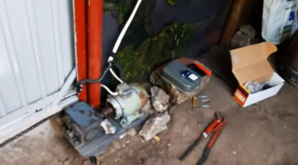 Механизация с применением электродвигателя