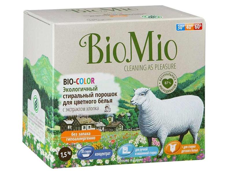 «BioMio BIO-COLOR» с экстрактом хлопка – новое слово в линейке стиральных порошков