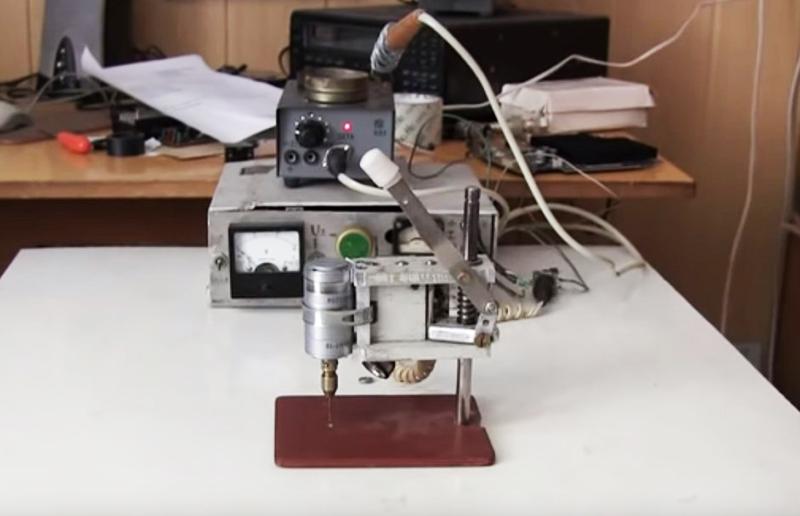 Станок для сверления печатных плат