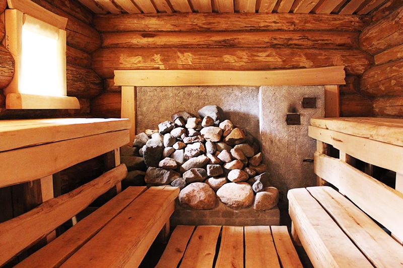 Груда камней играет роль хорошего теплообменника