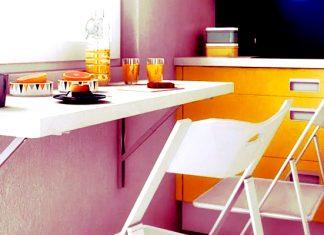 Идеальный стол для маленькой кухни