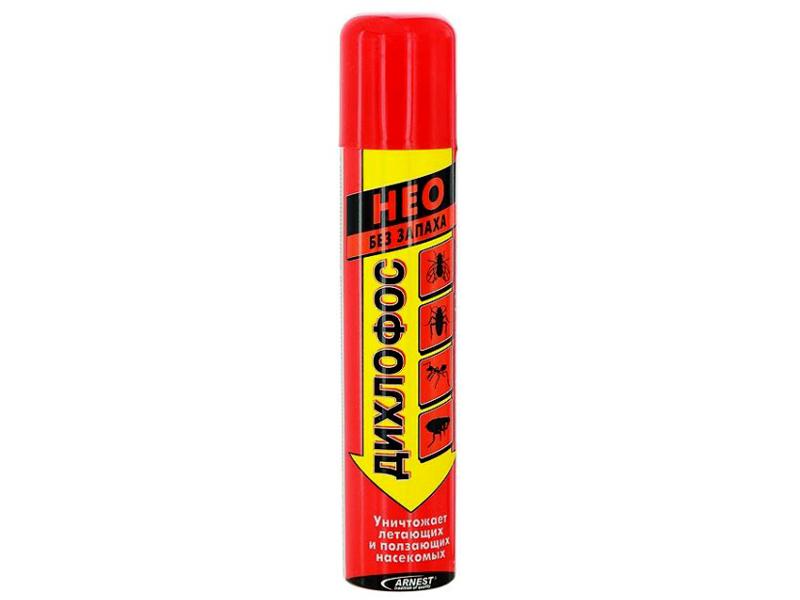 Дихлофос можно брать без запаха
