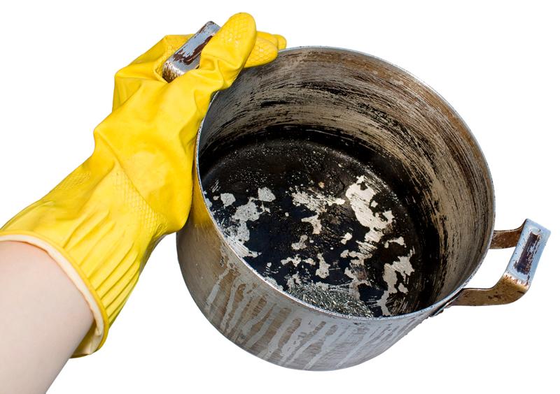 Как очистить кастрюлю: лучшие способы