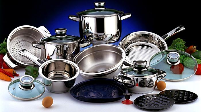 Прекрасно отмытая посуда