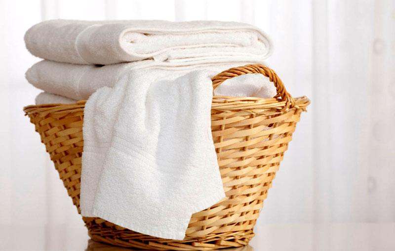 Во время очистки полотенец добавляйте эфирные масла для аромата