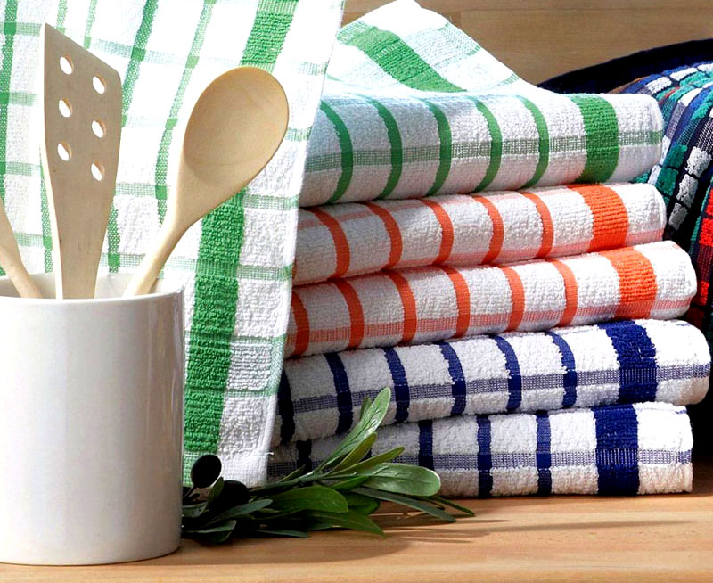 Махровые полотенца обрабатывайте аккуратно, а после стирки добавляйте кондиционер